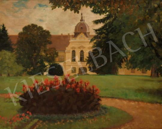 Eladó Molnár Z. János - A gödöllői kastély parkja festménye