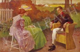 Margitay, Tihamér - Courtship
