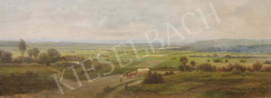 For sale  R. Schmidt - Heading home Chariot in Landscape 's painting