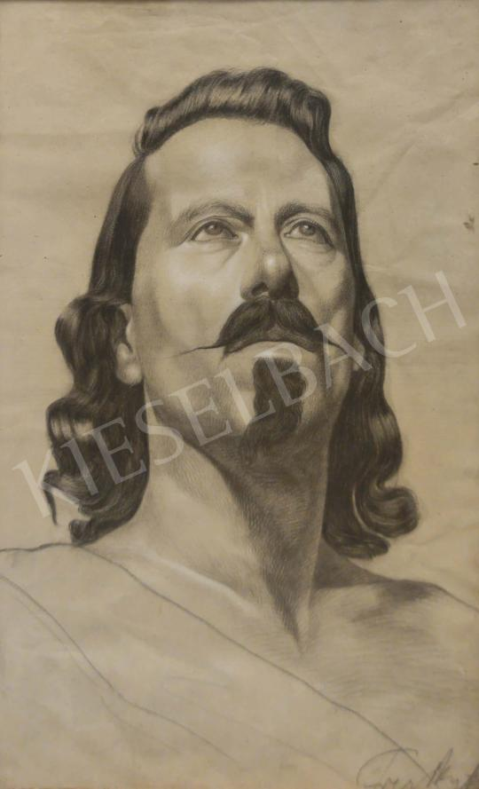 For sale Unknown painter - Man with Mustache 's painting