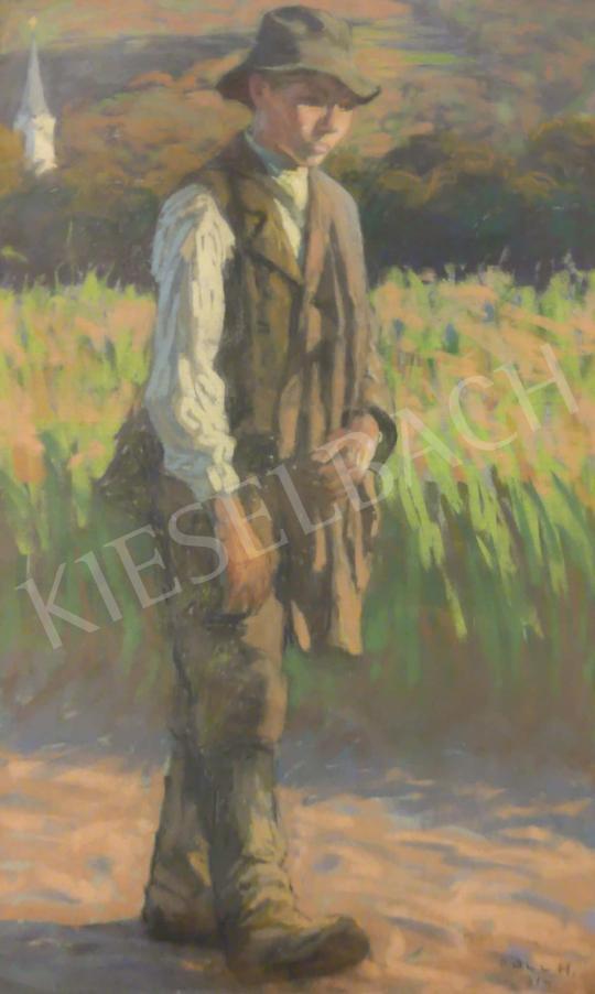 For sale  Poll, Hugó - Homeward 's painting