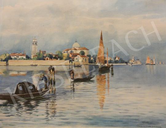Eladó Koszkol Jenő - Velencei látkép festménye
