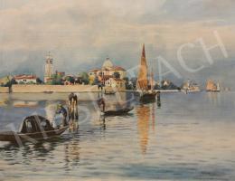 Koszkol Jenő - Velencei látkép