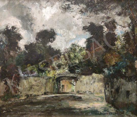 For sale  Magyar Mannheimer, Gusztáv - Sunny Street 's painting