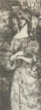 Eladó  Czinke Ferenc - Flóra, 1964 festménye