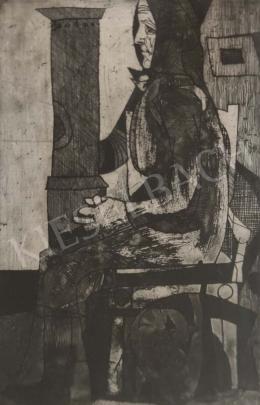 Lenkey Zoltán - Ülő, 1964