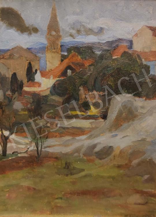 Eladó Kosztolányi Kann Gyula - Tájképvázlat festménye