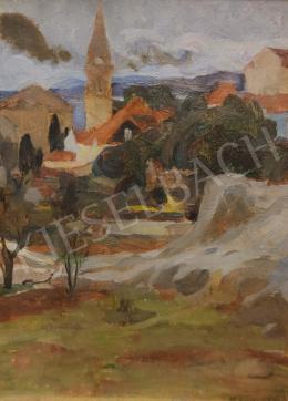 Kosztolányi Kann, Gyula - Landscape sketch