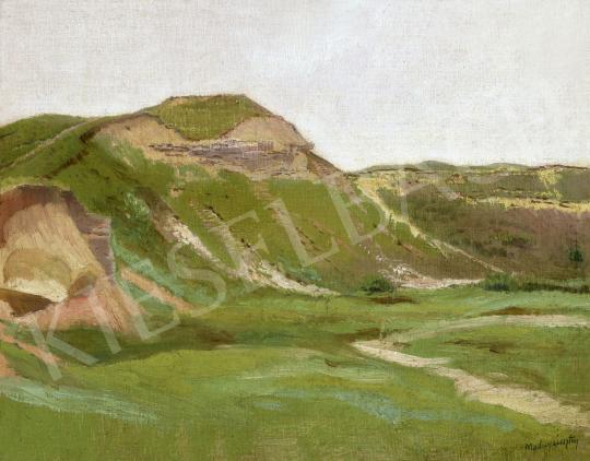 Eladó  Mednyánszky László - Zöldellő táj (Hegyvidék) festménye
