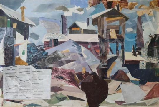 Eladó Tamás Ervin - Bánya, 1972 festménye