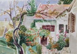 Tamás, Ervin - The neighbor's yard, 1991