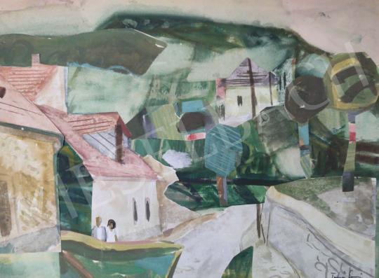 Eladó Tamás Ervin - Tokaji részlet, 1964 festménye