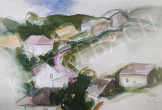 Eladó Tamás Ervin - Francia falu festménye