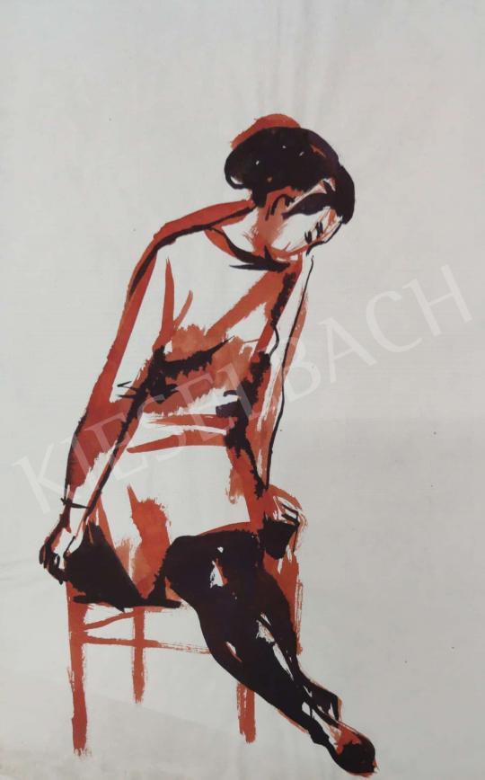 Eladó Tamás Ervin - Kecses mozdulat. 1969 festménye