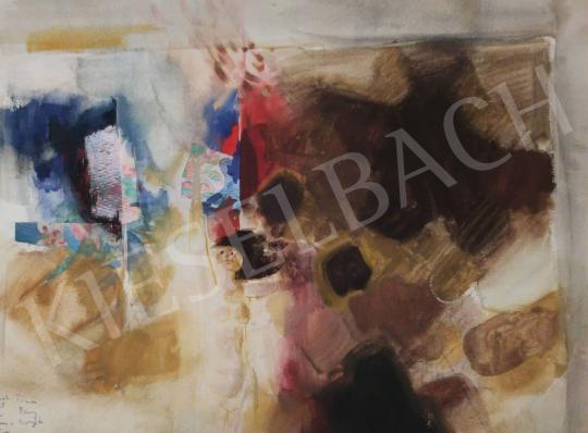 Eladó Tamás Ervin - Gondolatok a festészetről I., 1976 festménye