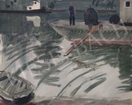 Tamás Ervin - Kikötőben, 1958