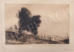 Rudnay, Gyula - Hungarian Landscape (Hommage á Rembrandt)