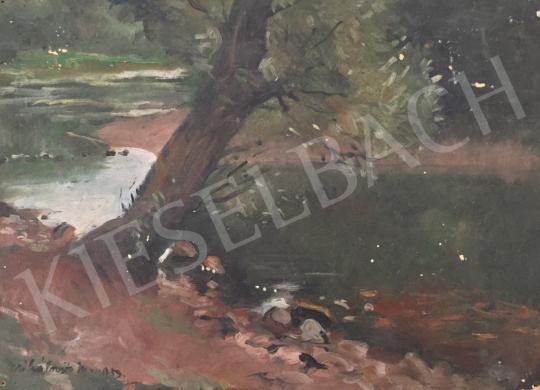 Eladó Mihalovits Miklós - Dunaparti hnagulat festménye