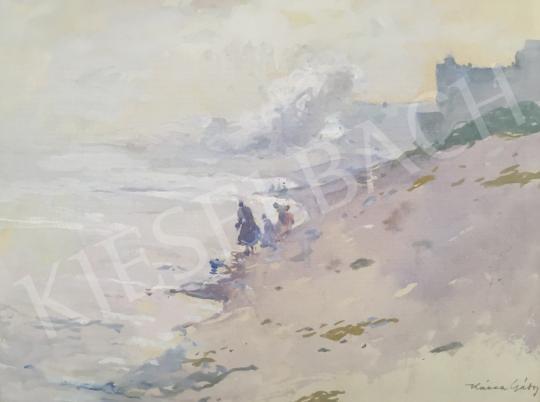 Eladó  Kássa Gábor - Lágy fények (Duna) festménye