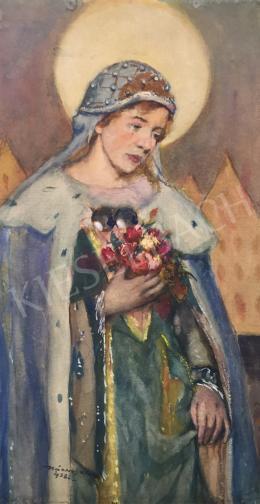 Kássa Gábor - Árpád-házi Szent Erzsébet, 1938