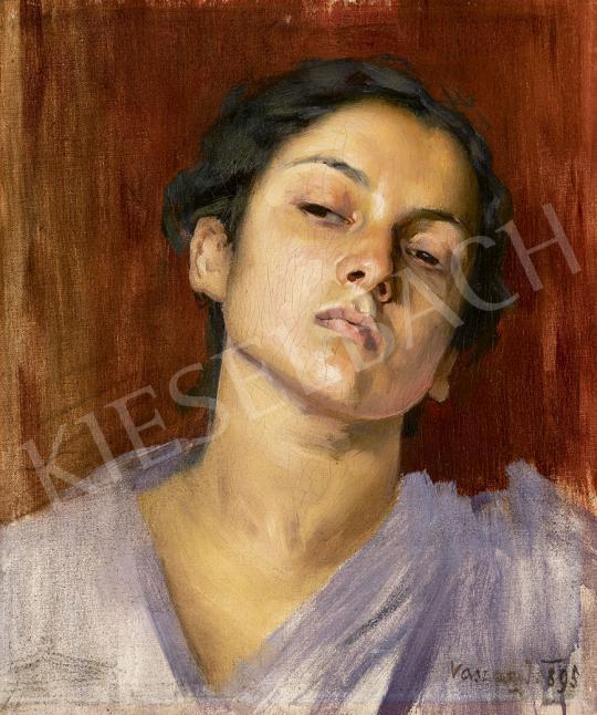 Eladó  Vaszary János - Párizsi festőnő, 1895 festménye