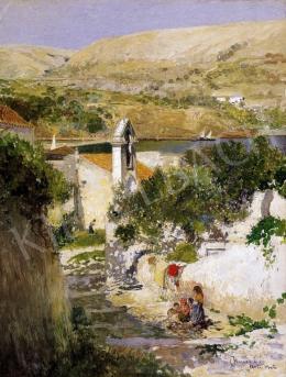 Herrer Cézár - Spanyol táj