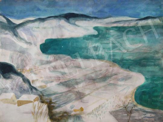 Eladó Tamás Ervin - Kék öböl (Görögország), 1978 festménye