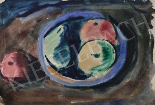 Eladó Tamás Ervin - Almák, körték, 1949 festménye