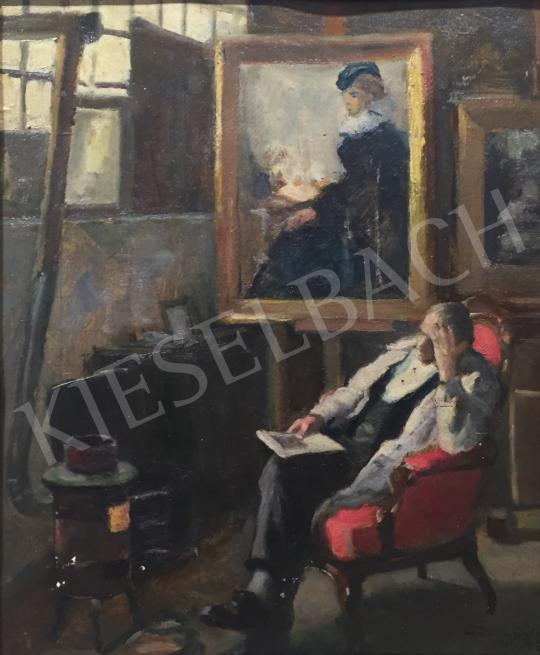 For sale  Kássa, Gábor - Remembering a Youthful Love, 1907 's painting