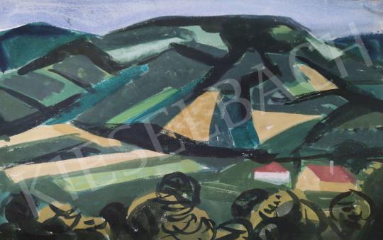 Eladó Tamás Ervin - Házacskák (Domboldal) festménye