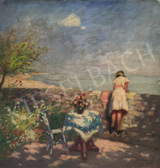 For sale  Kássa, Gábor - Waterfront (Summer Day), 1934  's painting