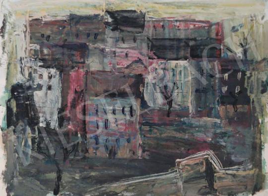 Eladó Tamás Ervin - Városkép, 1959 festménye