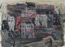 Tamás Ervin - Városkép, 1959