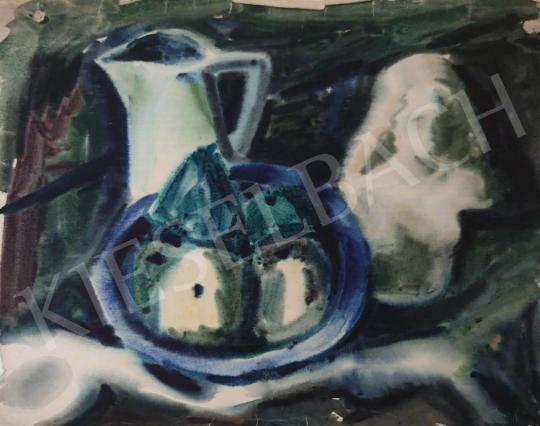 Eladó Tamás Ervin - Fehér korsó, 1947 festménye