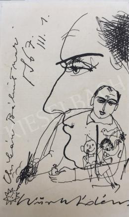 Würtz Ádám - Önarckép, 1967