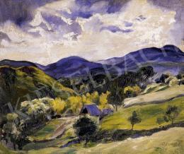 Jeges, Ernő - Hilly Landscape