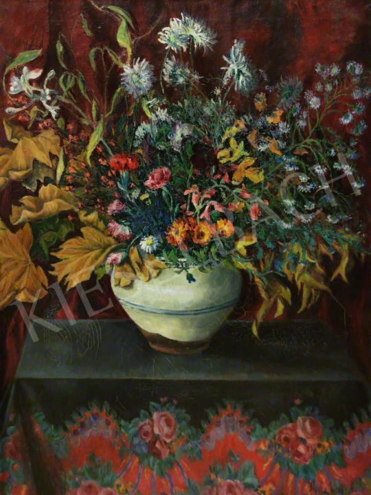 Eladó Kalmár Anna - Asztali virágcsendélet festménye