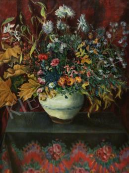 Kalmár Anna - Asztali virágcsendélet