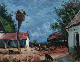 Boldizsár István - Zánka (Nyári nap), 1980