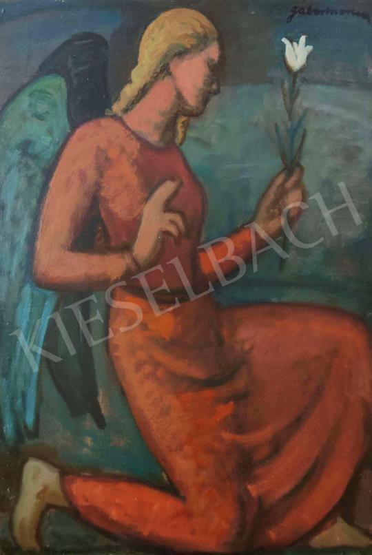 Eladó  Gábor Móric - Örzőangyal (Liliom, üzenet), 1940 körül festménye