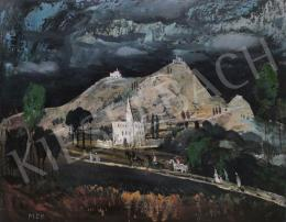 Molnár C., Pál - Italian Landscape with Riders