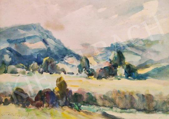 Eladó Matskássy Pál - Budai hegyek festménye