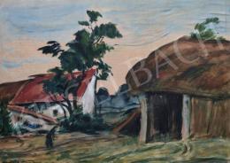 A. Tóth Sándor - Kertben, 1959