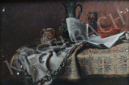 Bachmann, Károly - Still Life with Newspaper