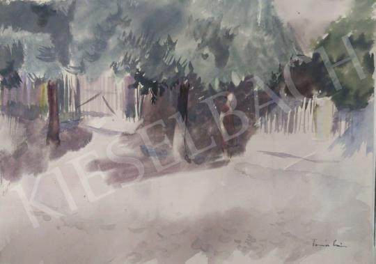 Eladó Tamás Ervin - Napsütés, 1955 festménye