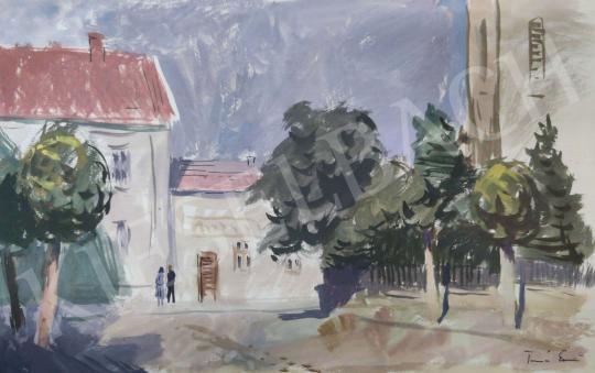 Eladó Tamás Ervin - Találkozás, 1955 festménye