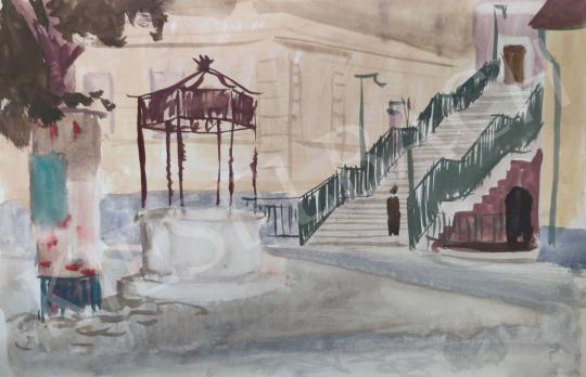 Eladó Tamás Ervin - Sopron, 1958 festménye
