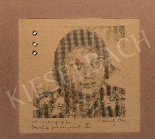 Eladó Záborszky Gábor - Önarckép, 1976 festménye