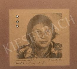 Záborszky Gábor - Önarckép, 1976