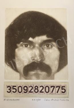Sáros András Miklós - Önarckép, 1980